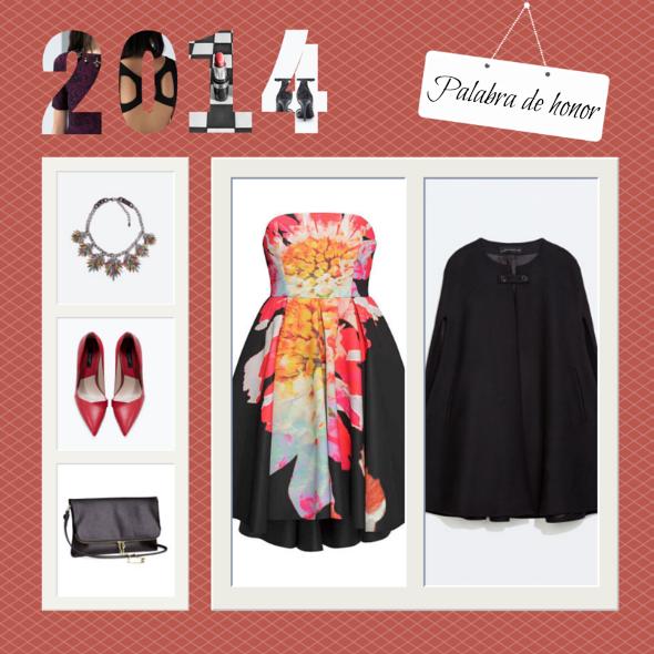 vestidos palabra de honor fin de año reina de la fiesta 2014