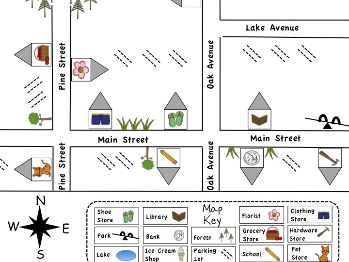 First Grade Fanatics Map Pack Another Giveaway Very Soon – Map Key Worksheet