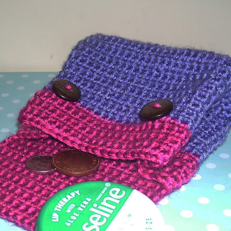 Crochet Purse by Giddystuff