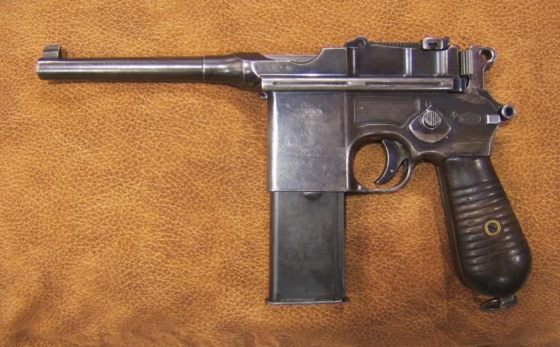 Armas de fuego mauser m712 - Pistola para lacar ...