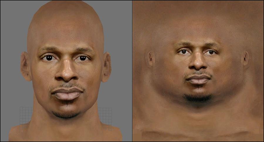 NBA 2K14 Ray Allen Realistic Face Mod
