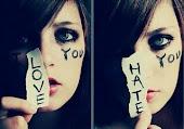 Del amor al odio solo hay un paso!