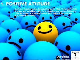 Our Values (1) Positive Attitude
