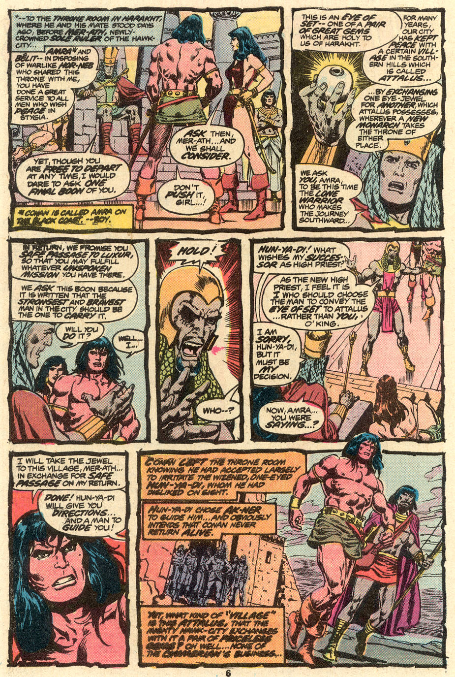 Conan the Barbarian (1970) Issue #79 #91 - English 5