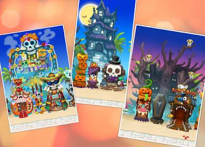 Happy Street Halloween Theme Combo Level 1