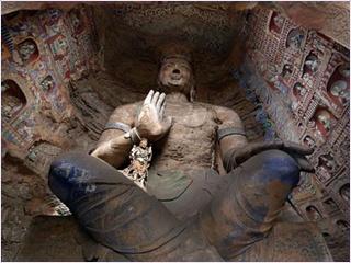 ถ้ำผาหยุนกัง (Yungang Grottoes)