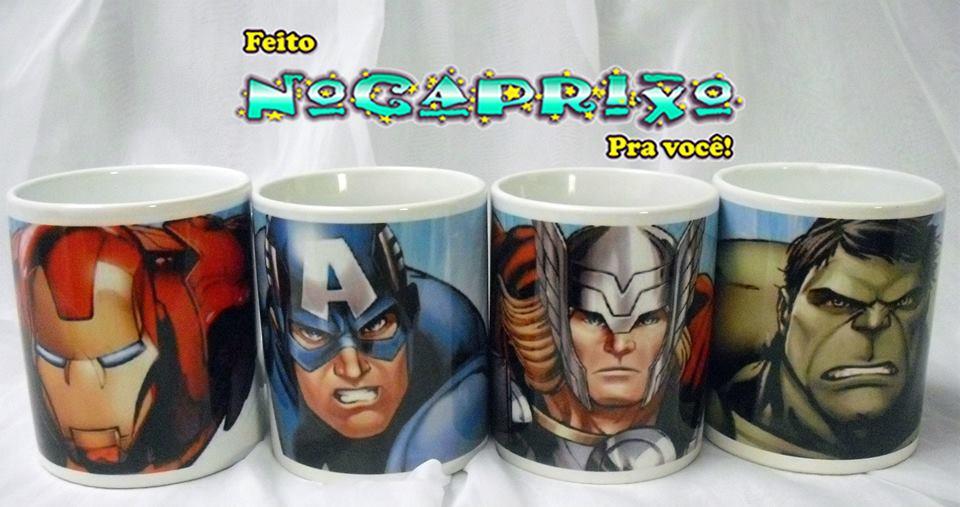 Canecas Personalizadas Super Heróis