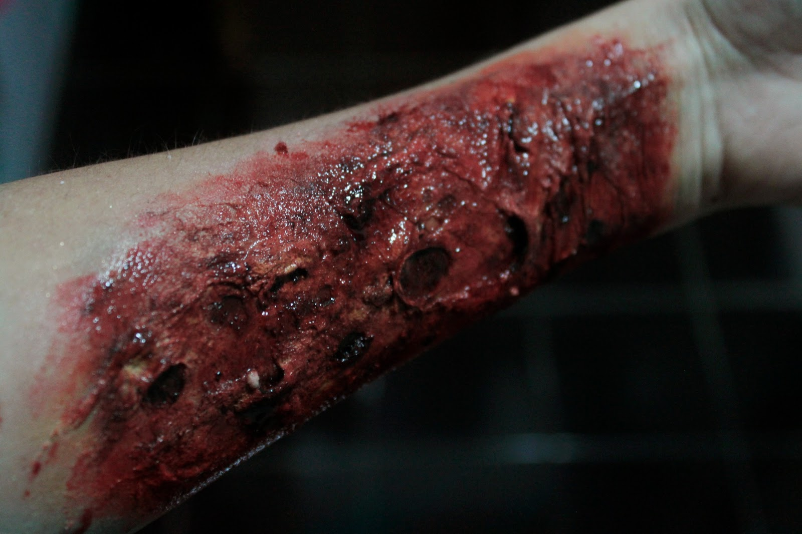 FX Makeup Series: Acid Burns