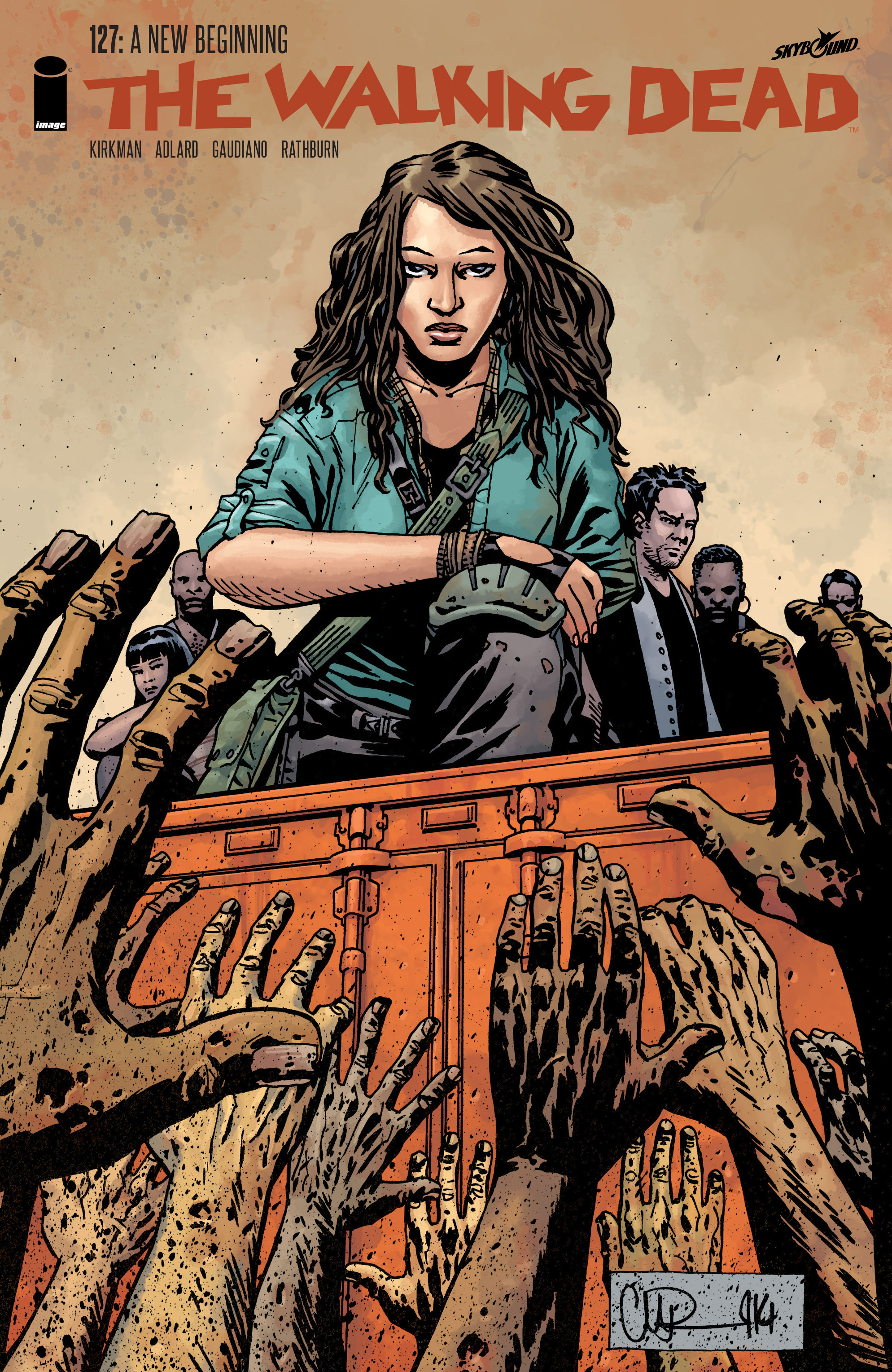 The Walking Dead Issue #127 Page 1