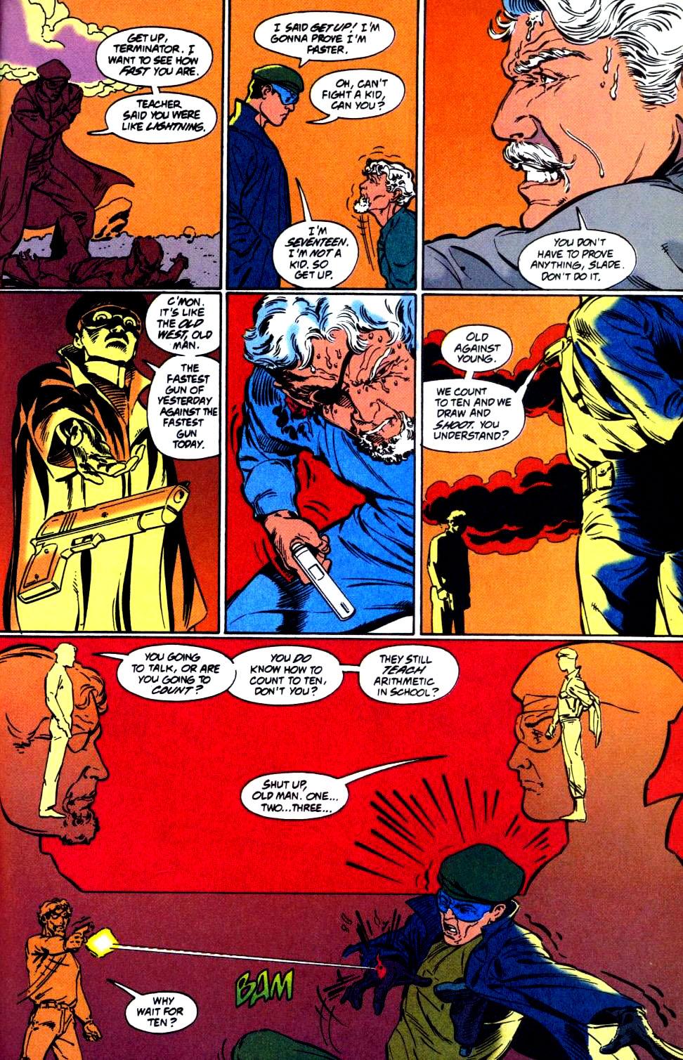 Deathstroke (1991) Issue #35 #40 - English 23