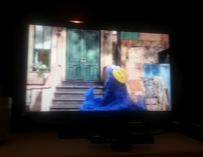 Cookie Monster, Kinect, Sesame Street, TV, XBox