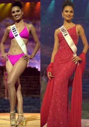 Lara Dutta in bikini old unseen pics