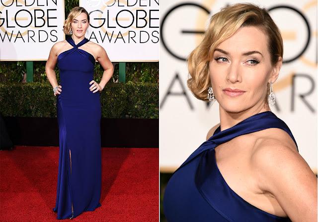 Kate Winslet in Ralph Lauren - Golden Globe Awards 2016