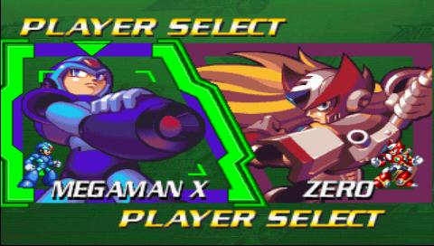 Megaman X4 Descarga PSP