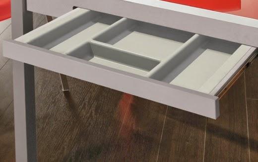 cajon cubertero mesa cocina