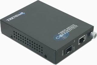 TRENDnet Intelligent 1000Base-T to SFP Media Converter TFC-1000MGB