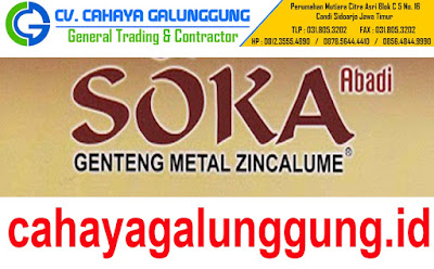 SOKA ABADI - GENTENG METAL ZINCALUME