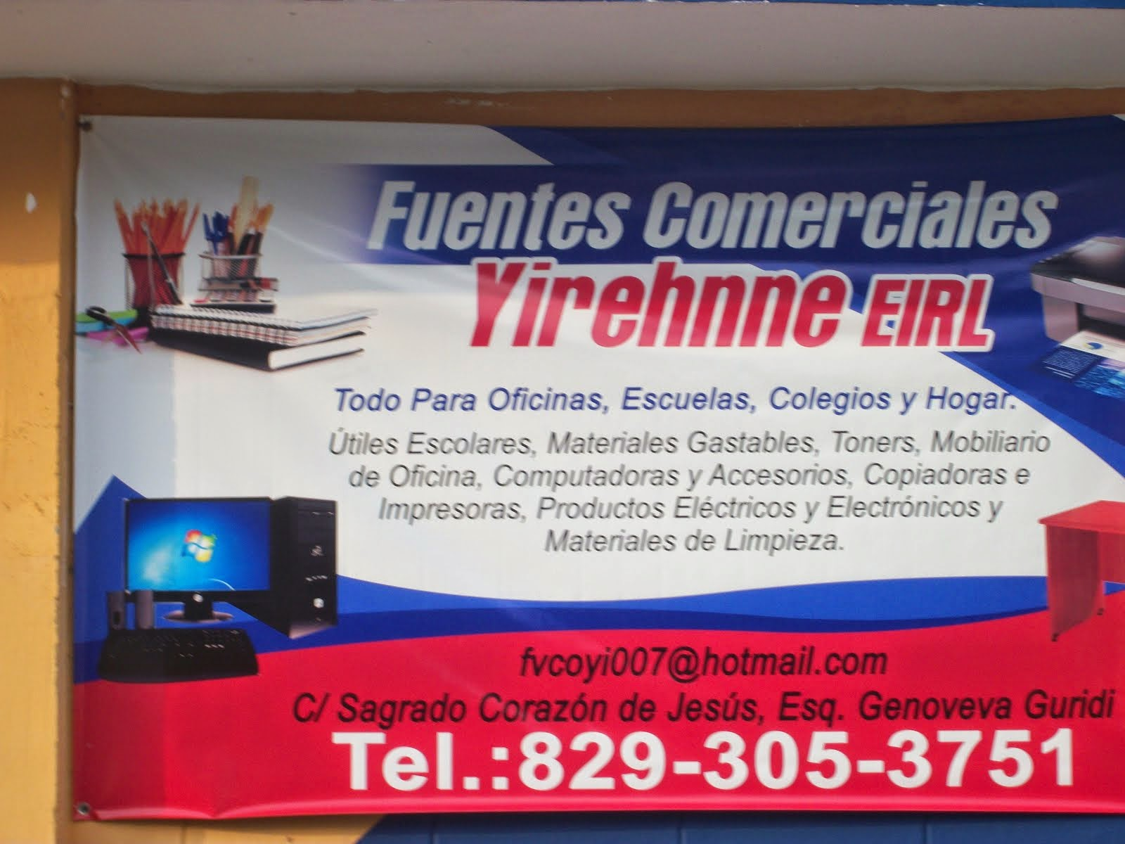 FUENTES COMERCIALES YIREHNNE