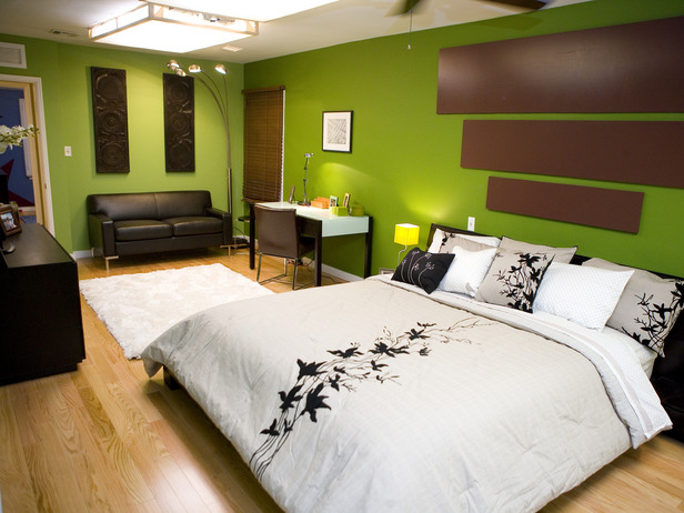 Green Master Bedroom 616 x 462