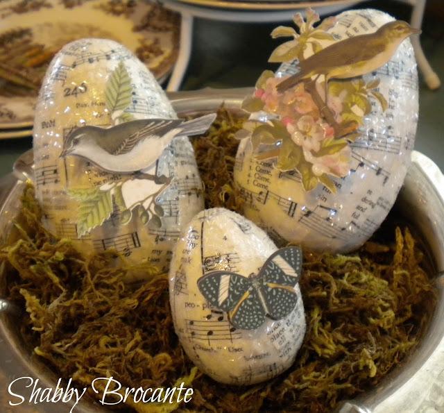 Botanical Easter Eggs