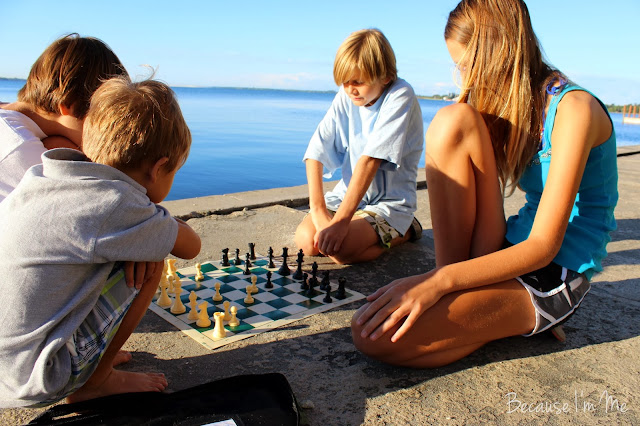 Because I'm Me, Awesome chess learning for kids off all ages (and would make a great Christmas gift)