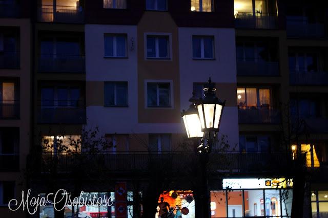 Gołdap nocą