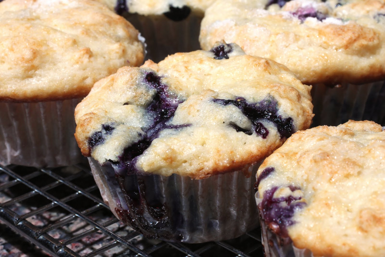 pulled it out this weekend to make some blueberry muffins
