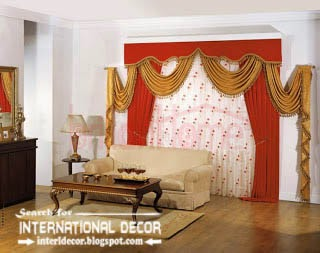 luxury living room curtain styles, colors, orange living room curtains