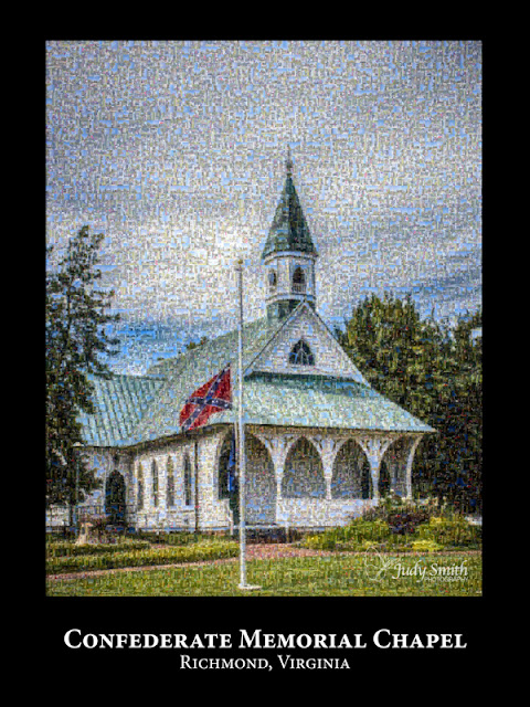 Confederate Memorial Chapel by Judy P. Smith