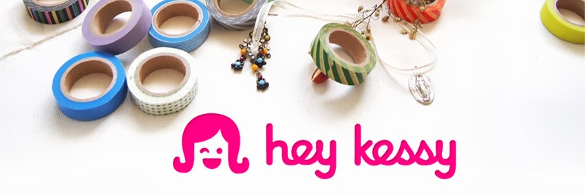Hey Kessy - washi tape in Manila Philippines