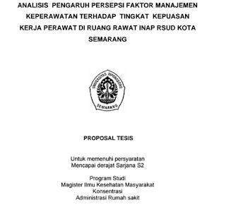 Contoh Proposal Tesis Ilmu Kesehatan Masyarakat Pdf Download