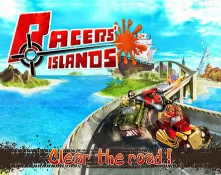غلاف لعبة جزر المتسابقين Racers Islands