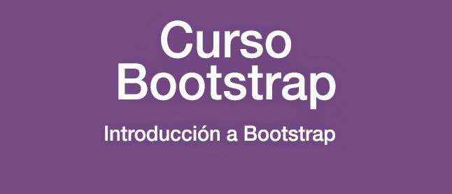 Curso Bootstrap: Introducción