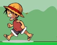 لعبة لوفي والهروب من كل من وحوش البوكيمون و الديجيمون Luffy escape from pokemon and digimon game