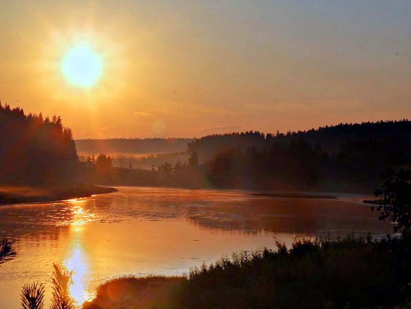 sunset-on-the-river-natural-wallpapers