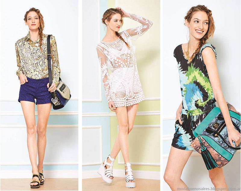 Moda primvera verano 2015. Uma looks, tendencias, colores y esampas primavera verano 2015.