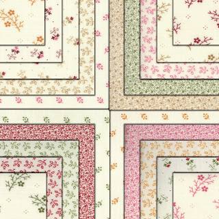 Moda FLORAL GATHERINGS SHIRTINGS Quilt Fabric by Primitive Gatherings