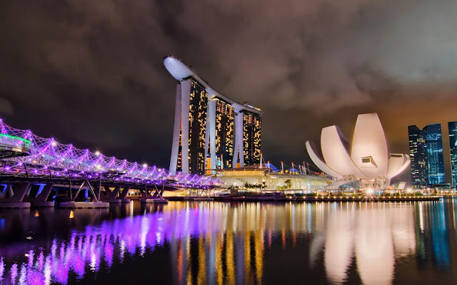 Du ngoạn trên đảo quốc Singapore