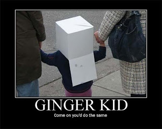motivational ginger kid come on you would do the same, motivational ginger, motivational poster gigner kid, funny motivational