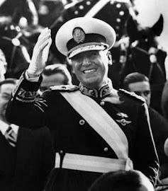 General JUAN DOMINGO PERÓN (LOBOS 08/10/1895 – OLIVOS  01/07/1974)