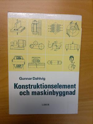 Gunnar Dahlvig - Konstruktionselement och maskinbyggnad