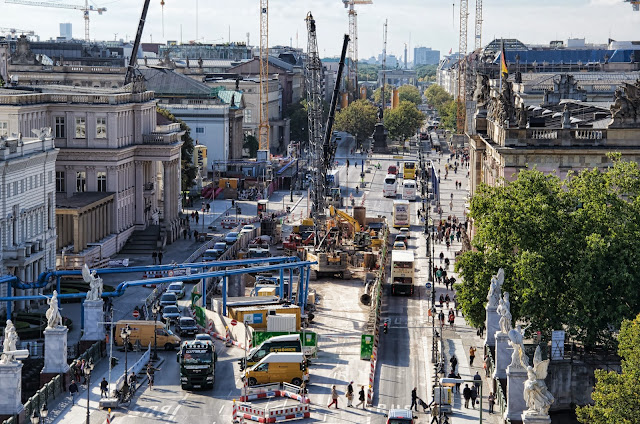 Baustelle Unter den Linden 3, 10117 Berlin, 01.10.2013