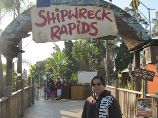 SeaWorld San Diego Shipwreck Rapids