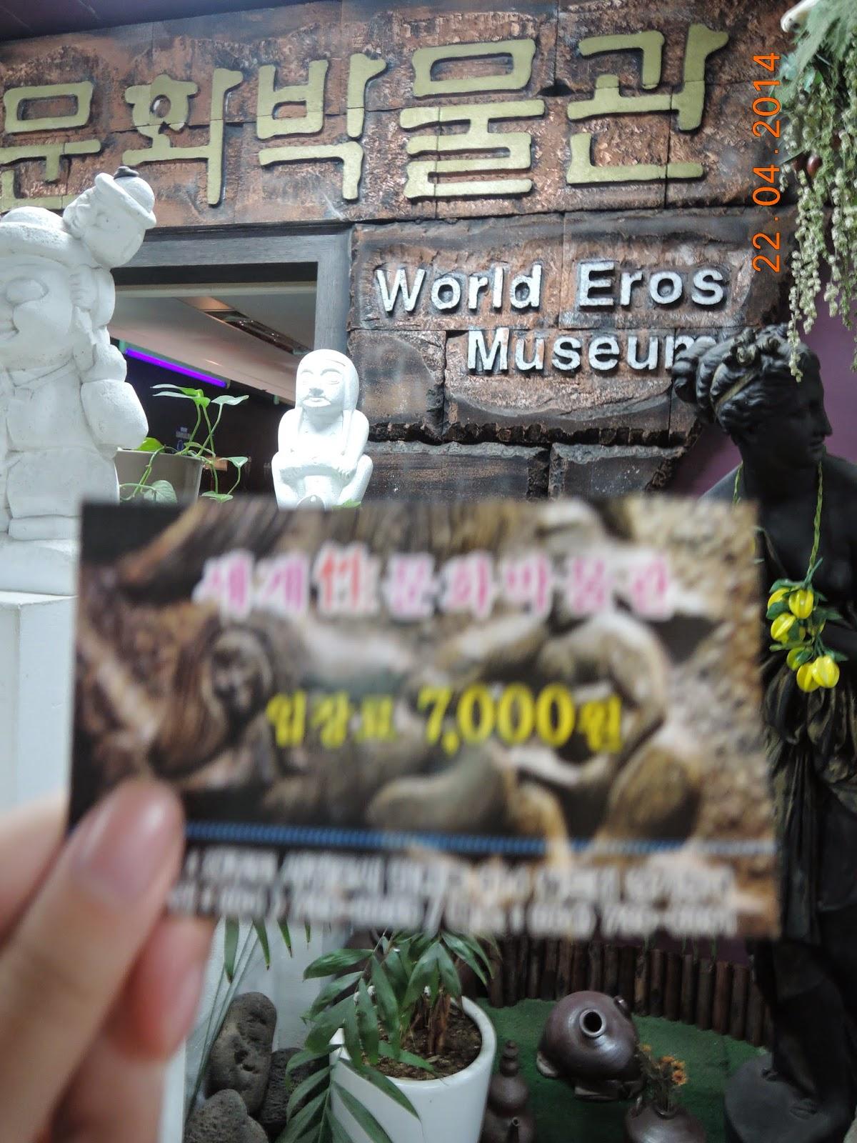 Ero Museum, Sex Museum, Jeju