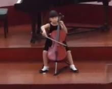 Michelle's Bach Suite 1 Prelude