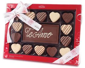 Cacau Show chocolates, bombons e presentes para o Dia dos Namorados