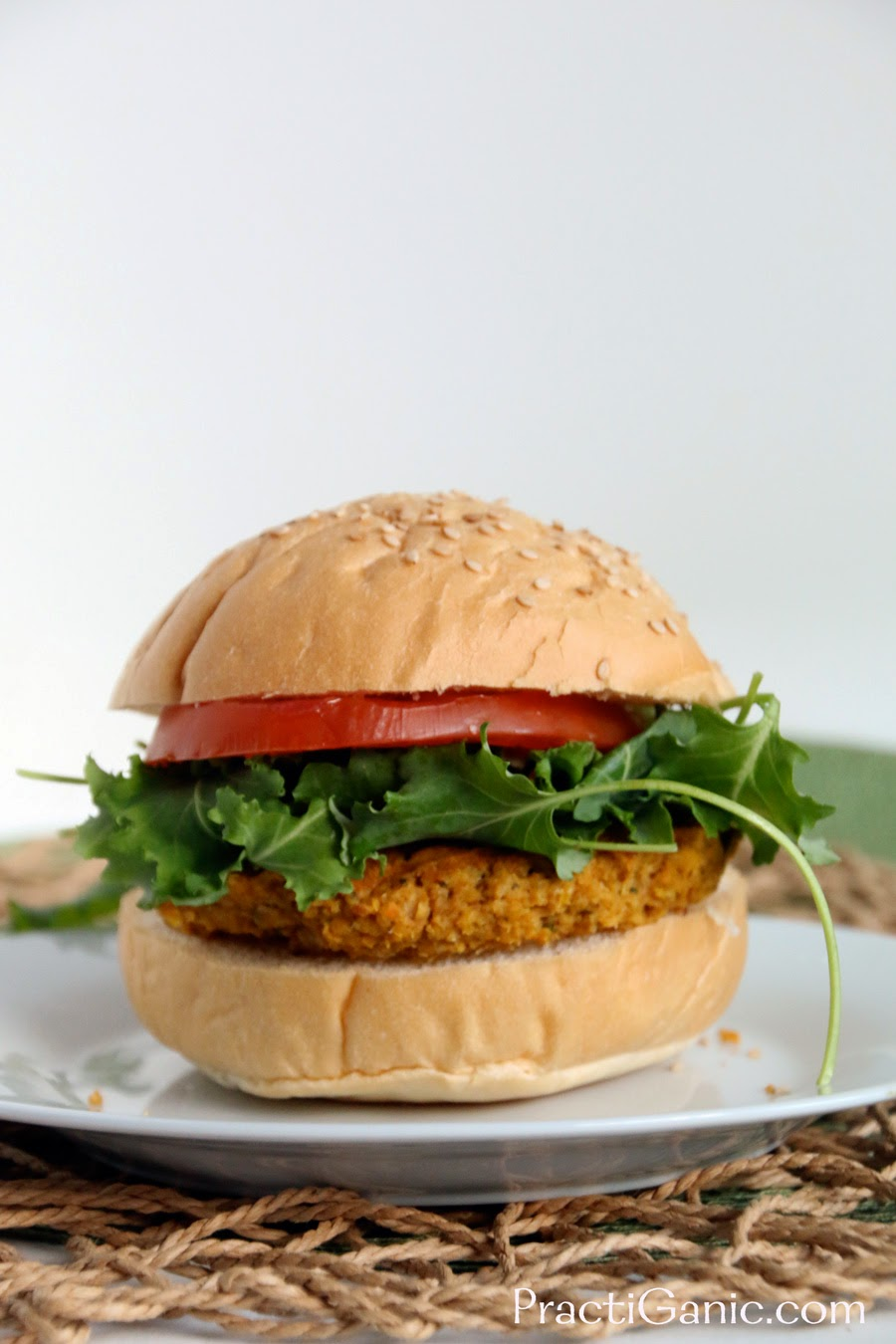 Moroccan Sweet Potato Burgers