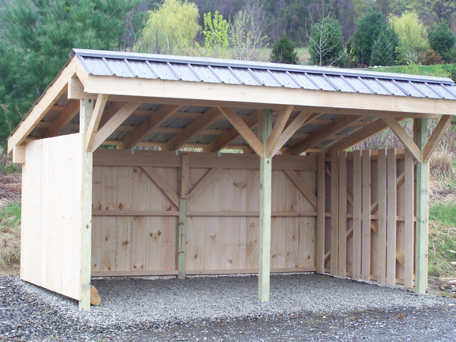 Best Firewood Shed Designs