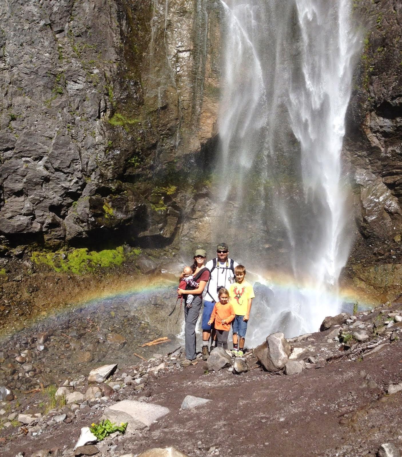 Comet Falls, Mt Rainier, WA
