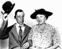 Marjorie Main and Percy Kilbride